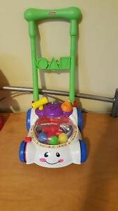 Fisher Price laugh n learn lawn mower jouet bebe aide marcher West Island Greater Montréal image 1