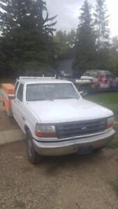 1995 Ford F-250 Pickup Truck. Sask power truck
