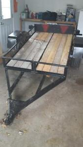 selling utility trailer