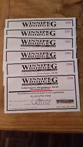 6 Oil, Lube & filter change Certificates.