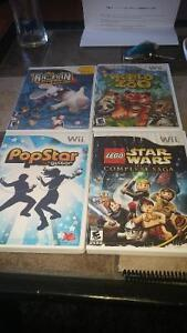 Wii games. $20 for all