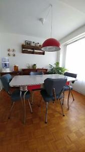 Vintage Formica Table and Chair Set