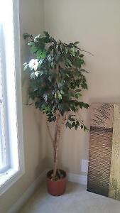 Artificial tree, 6.5 feet tall, great condition