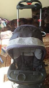 Double stroller for sale.