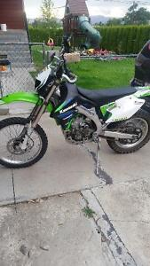 2008 klx450r plated for the street