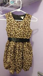 Size 8 lepard print dress Cambridge Kitchener Area image 1