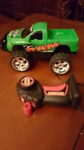 Truck with remote control perfect condition
