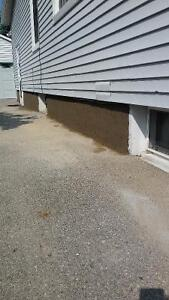 CONCRETE WALL PARGING REPAIRS! FAST & ECONOMICAL London Ontario image 3