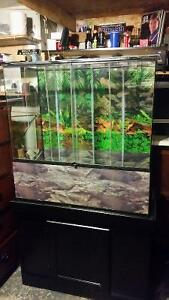 XL TERRARIUM WITH CABINET