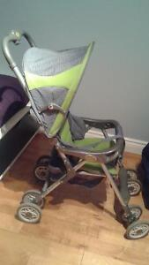 STROLLER WITH FOLDING