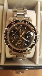 Montblanc 7034 Automatic Sport Chronograph With Black Dial