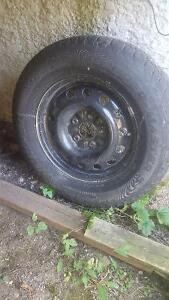 235/65/16 Set of 4 Winter Tires and Rims