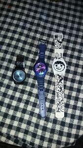 Neff watches and rad watches and a quartz watches
