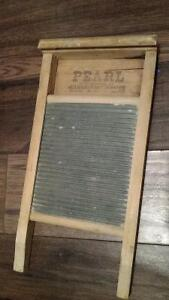 Planche à laver Pearl de Canadian WoodenWare washboard