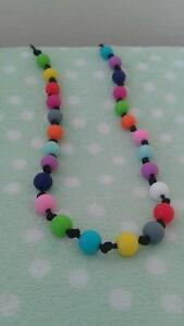 HOMEMADE TEETHING/NURSING NECKLACE BRAND NEW AND UNUSED