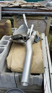 OEM Exhaust system for 2015 dodge ram 3500