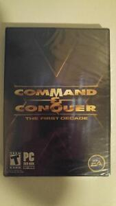 C&C The First Decade - Sealed - PC/DVD