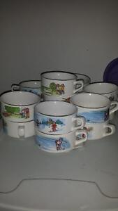 Ashton drake ornaments Campbell soup bowls much more mint