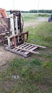 Forklift 3 point hitch