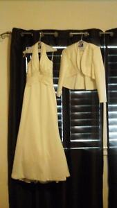 Wedding dress with jacket, with shoes and purse Kawartha Lakes Peterborough Area image 3