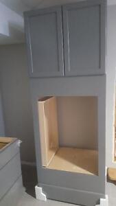 """kraftmaid 30"""" Double oven cabinet w slow close drawer and doors"""