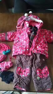 Manteau d'hivers 24 mois fille