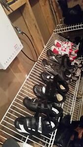 4 paires de soulier de velo