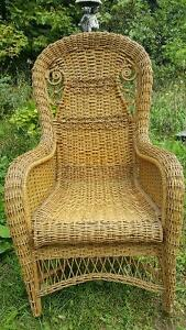 Victorian Rattan Chair by Gendron MFG
