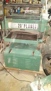 20 inch industrial planer
