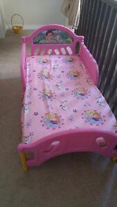 Dora toddler bed!!! $10.00 OBO