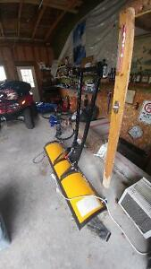 """Brand new 60"""" Arctic Cat plow and mount, sale or trade"""