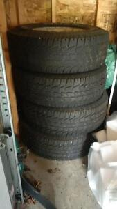 """15"""" FORD RIMS AND TIRES"""