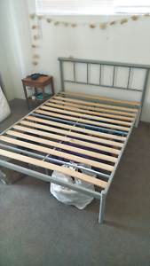 Double bed frame + mattress Albion Brisbane North East Preview