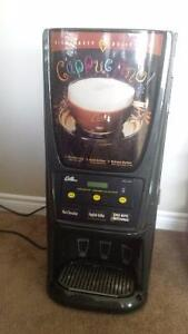 used cappuccino machine commercial