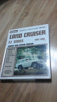 Land cruiser fj series 1985 to 1988  service manual can post North Richmond Hawkesbury Area Preview