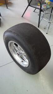 Mickey Thompson Et Drag Slicks on Race Stars