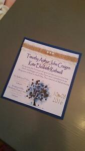 Wedding Invitations and Stationary Packages Kingston Kingston Area image 6