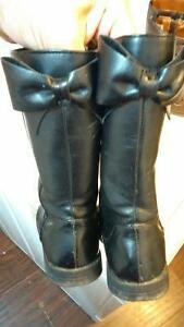 girls fall boots size childrens plac black 10 & carters brown 11