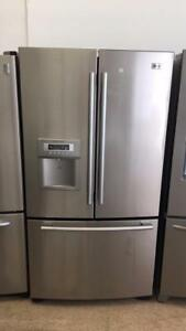 ECONOPLUS OTTAWA SUPER SALE LG FRENCH DOOR  STAINLESS FRIDGE  899.99$ TAXES INCLUDED