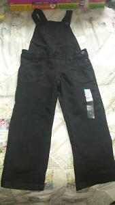 NWT  girls black coverall size 6