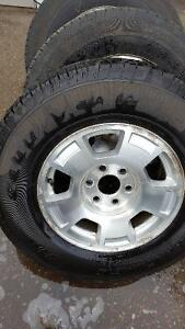 Sets of Ford & Chevy Tires and Rims for Sale