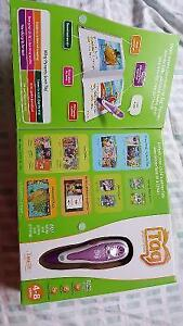 Leap Frog TAG Reading System + 13  books