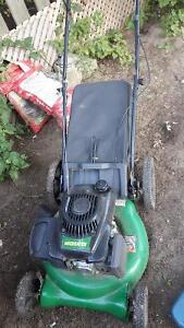 Lawn mower 2 years old