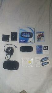 PlayStation Vita and Accessories Plus one game