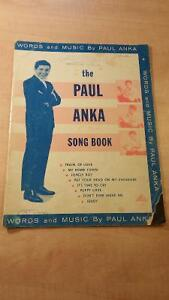 Paul Anka Song Book