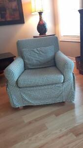 Attractive and Clean Ikea Arm Chair