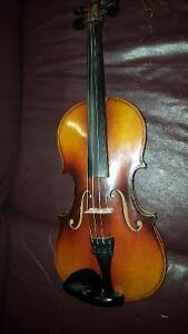 3/4 Czech Violin *super old*