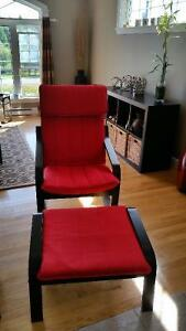Poang Chair - Red