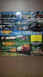 new sealed unopened p/c train sets