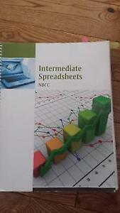 INTERMEDIATE SPREADSHEETS Textbook 2016